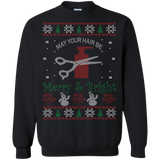 New Hair Stylist Christmas Shirts Ugly Christmas Sweater