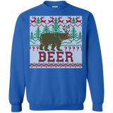 Deer & Bear meet for Beer Shirts Ugly Christmas Sweater
