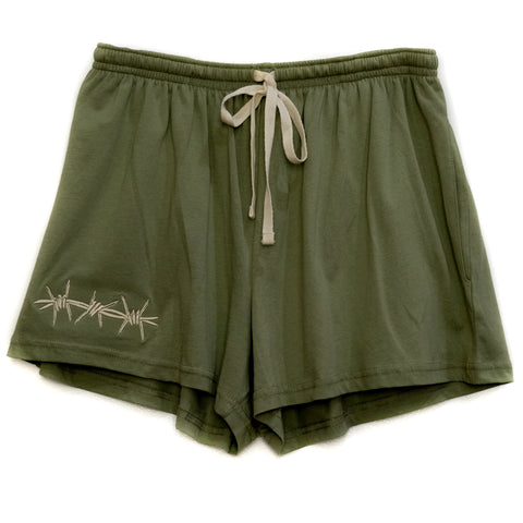 WIRE WO' SHORTS GREEN