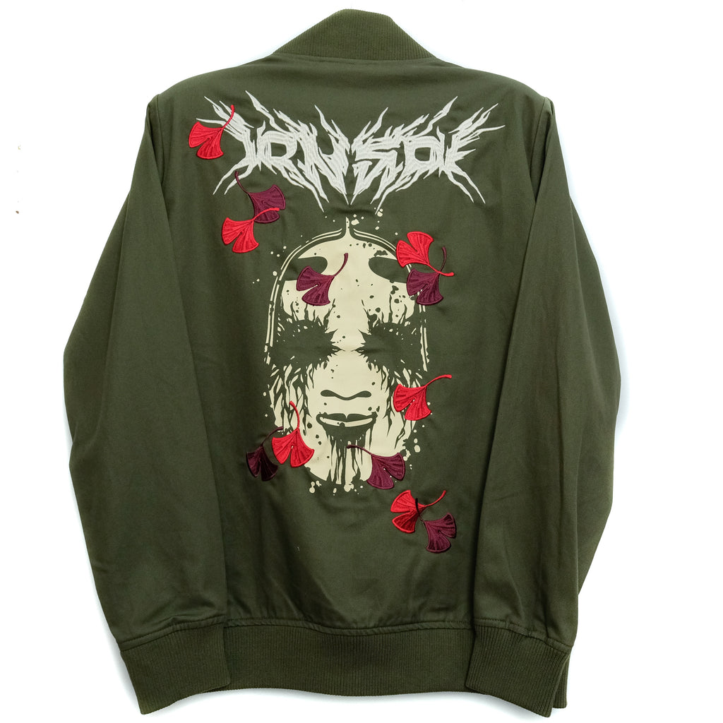 NOH MASK METAL BOMBER GREEN