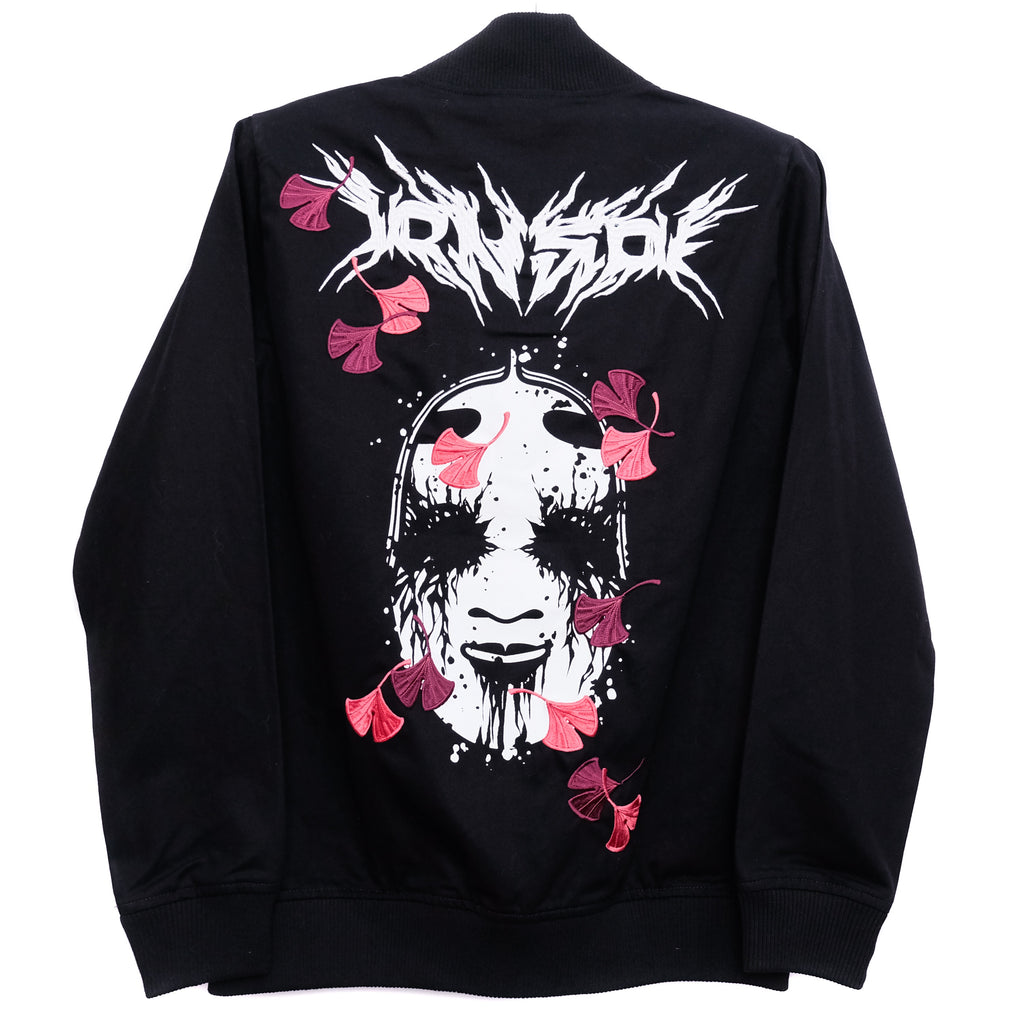 NOH MASK METAL BOMBER BLACK