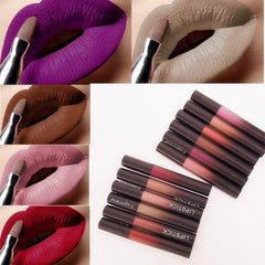 12 Colors Waterproof Matte Liquid Lipstick