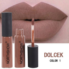 Lip Gloss 7 Colors Chocolate Fragrance Matte Liquid Lipstick Free + Shipping