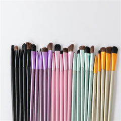 5pcs Portable Mini Eye Makeup Professional Brushes Set