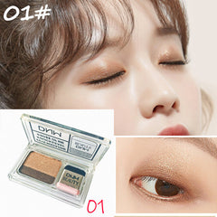 Double Color Glitter Eye Shadow