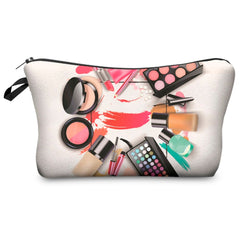 Women Fashion 3D Printed Makeup Bag