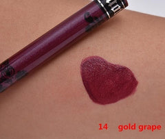 14 Color Liquid Lipstick Makeup Lips Paint Lipstick