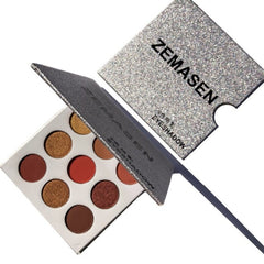 Natural 9 Colors Palette Shimmer Eye Shadow