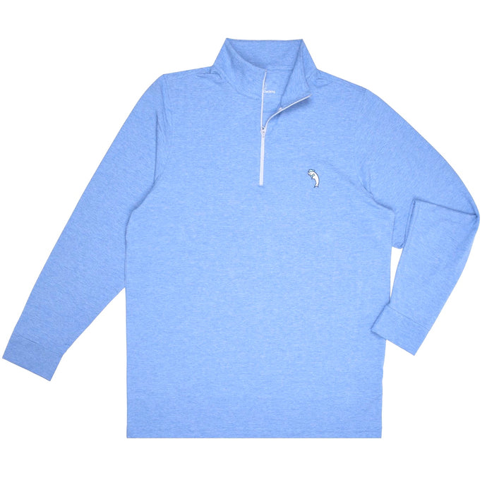 The Hamptons Blue Performance Quarter Zip