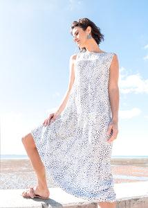 Dizi Dress in Dusted Chalk