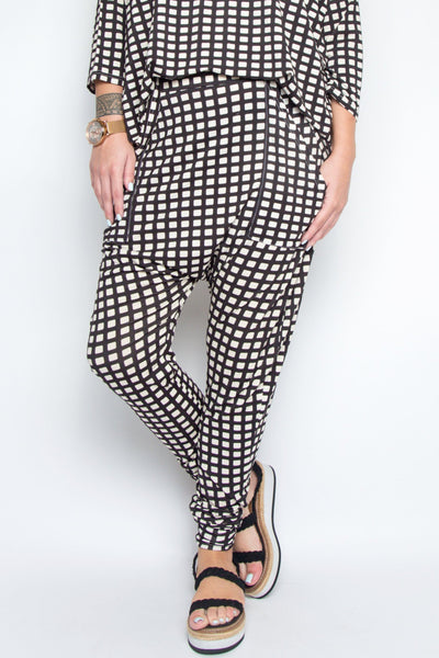 Cuffed Droppy Pant in Waffle