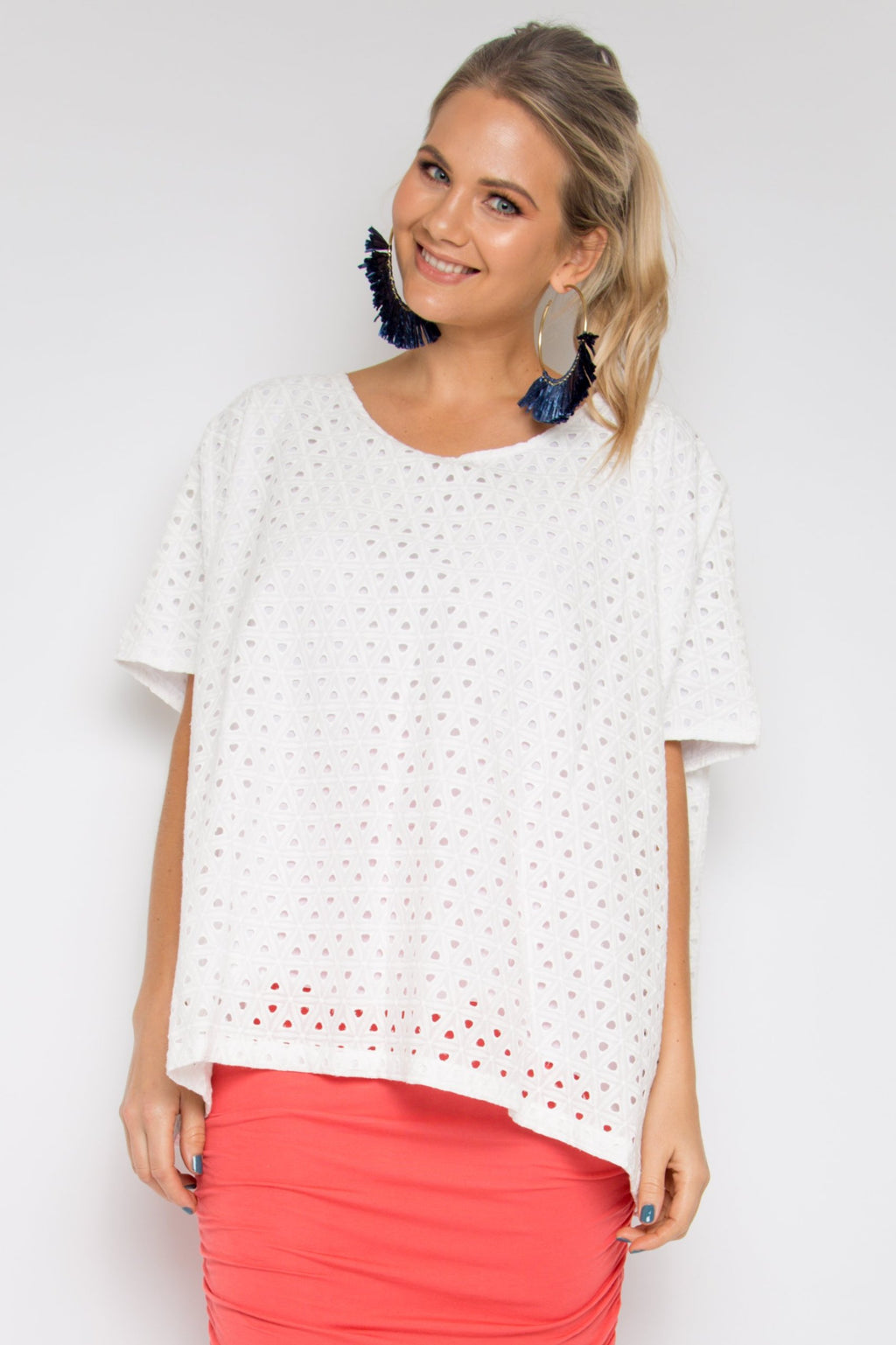 A Nice Top in Pipped Anglaise
