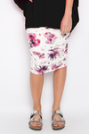 Ruche Skirt in Azalea