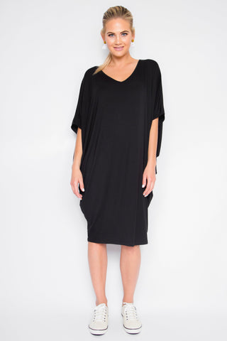 Bamboo Original Miracle Dress in Black