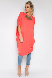Original Miracle Dress in Grapefruit (bamboo)