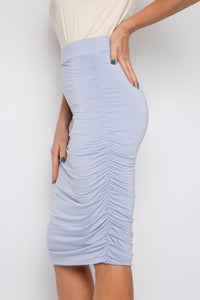 Ruche Skirt in Lilac (bamboo)