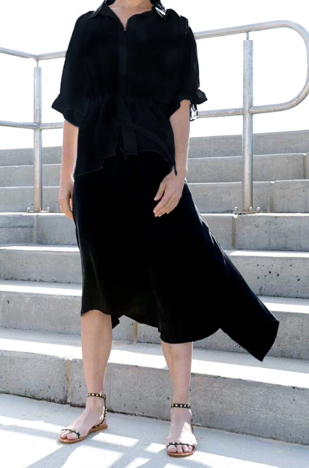 Sheng Skirt in Black
