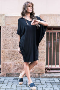 Original Miracle Dress in Black (bamboo)