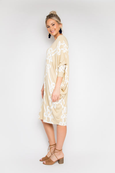 Long Sleeve Miracle Dress in Syndeo
