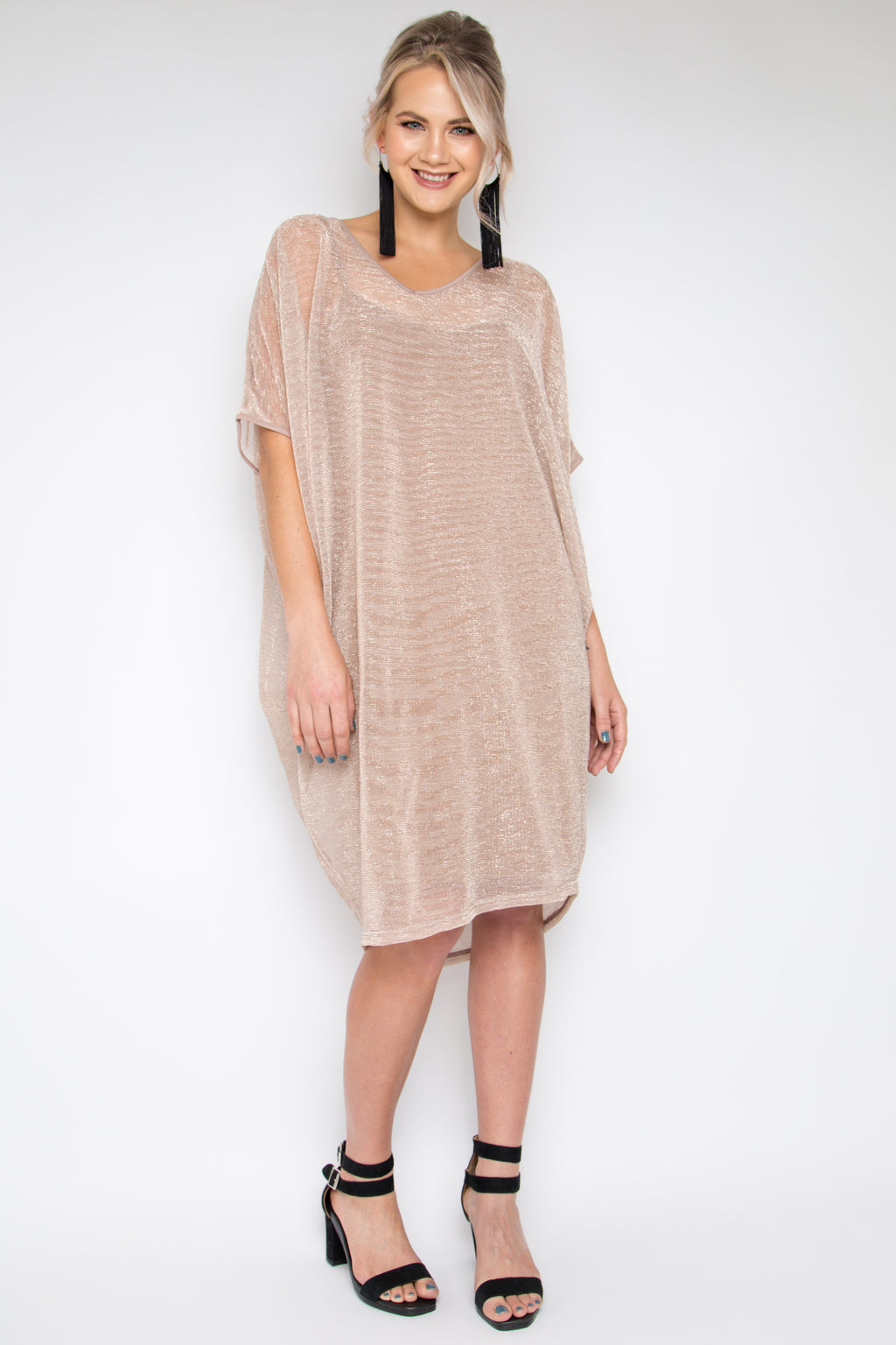 Original Miracle Dress in Mauve Mist (with bamboo slip)