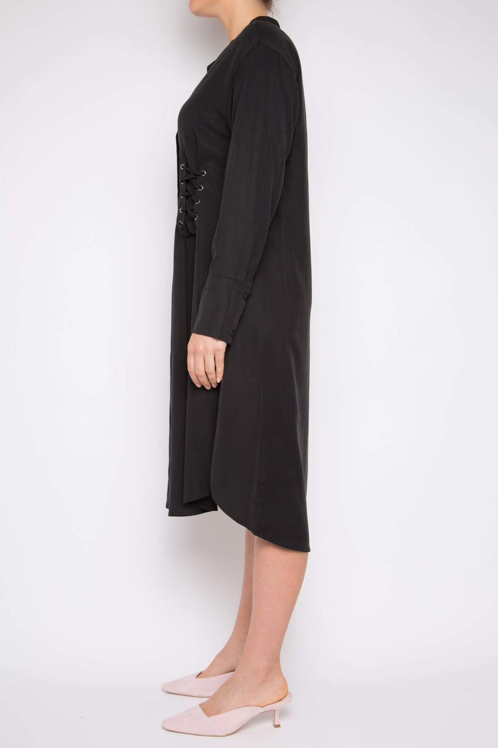 Muyu Dress in Black