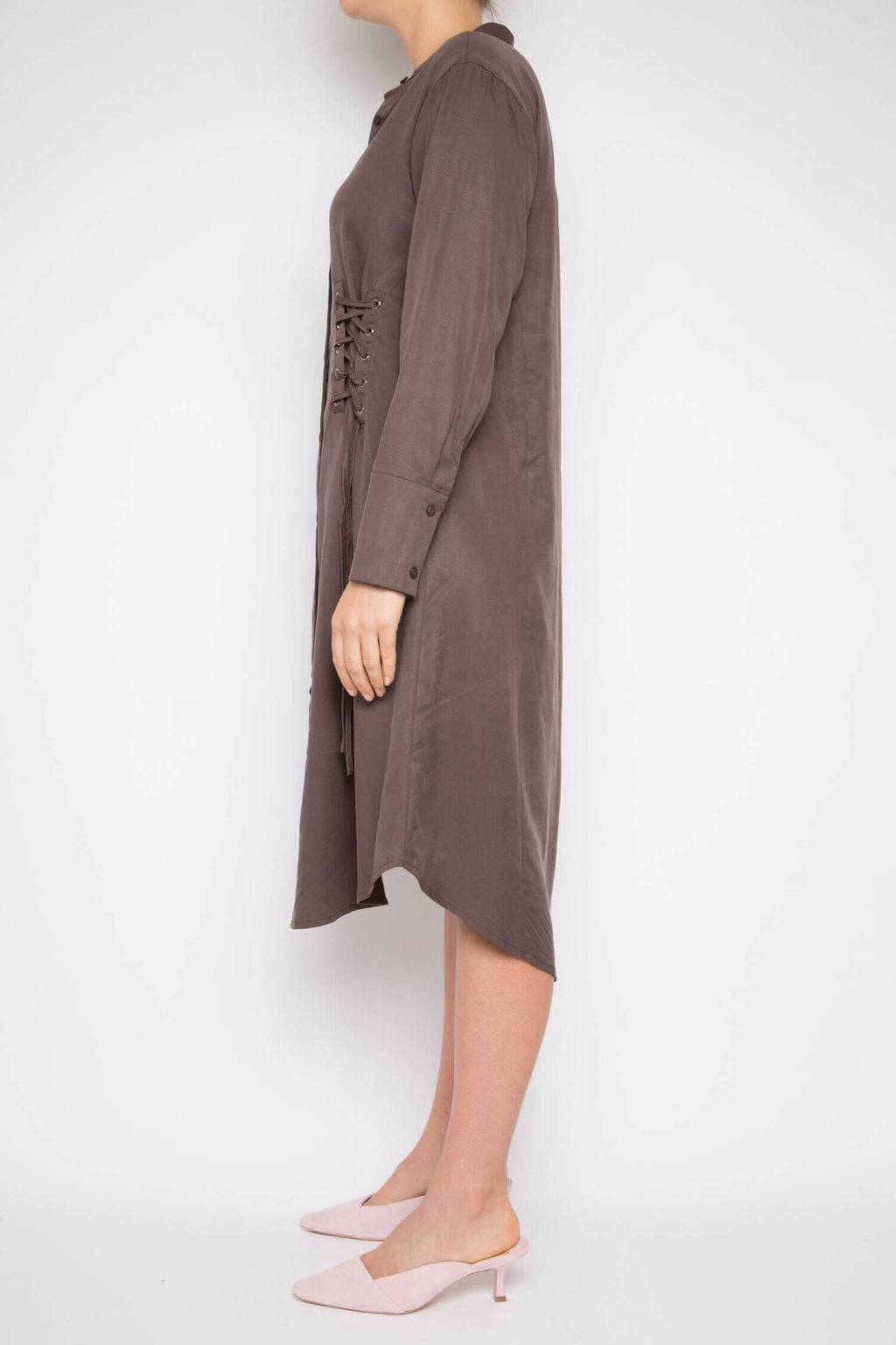 Muyu Dress in Slate