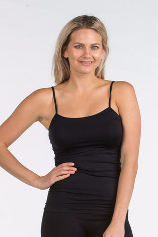 Seamless Singlet in Black