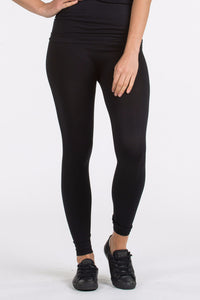 Seamless Tights in Black
