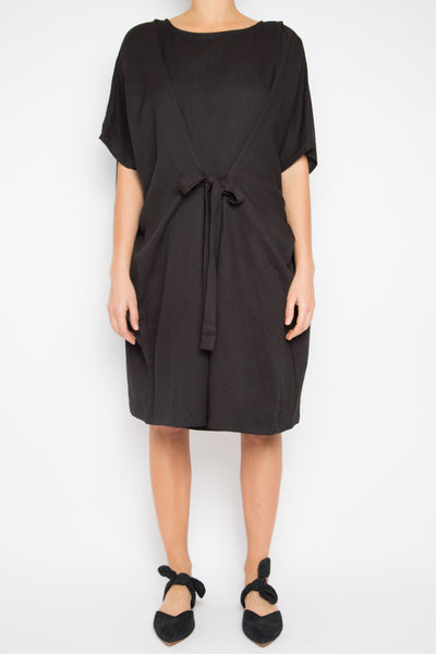 Herlusi Dress in Black