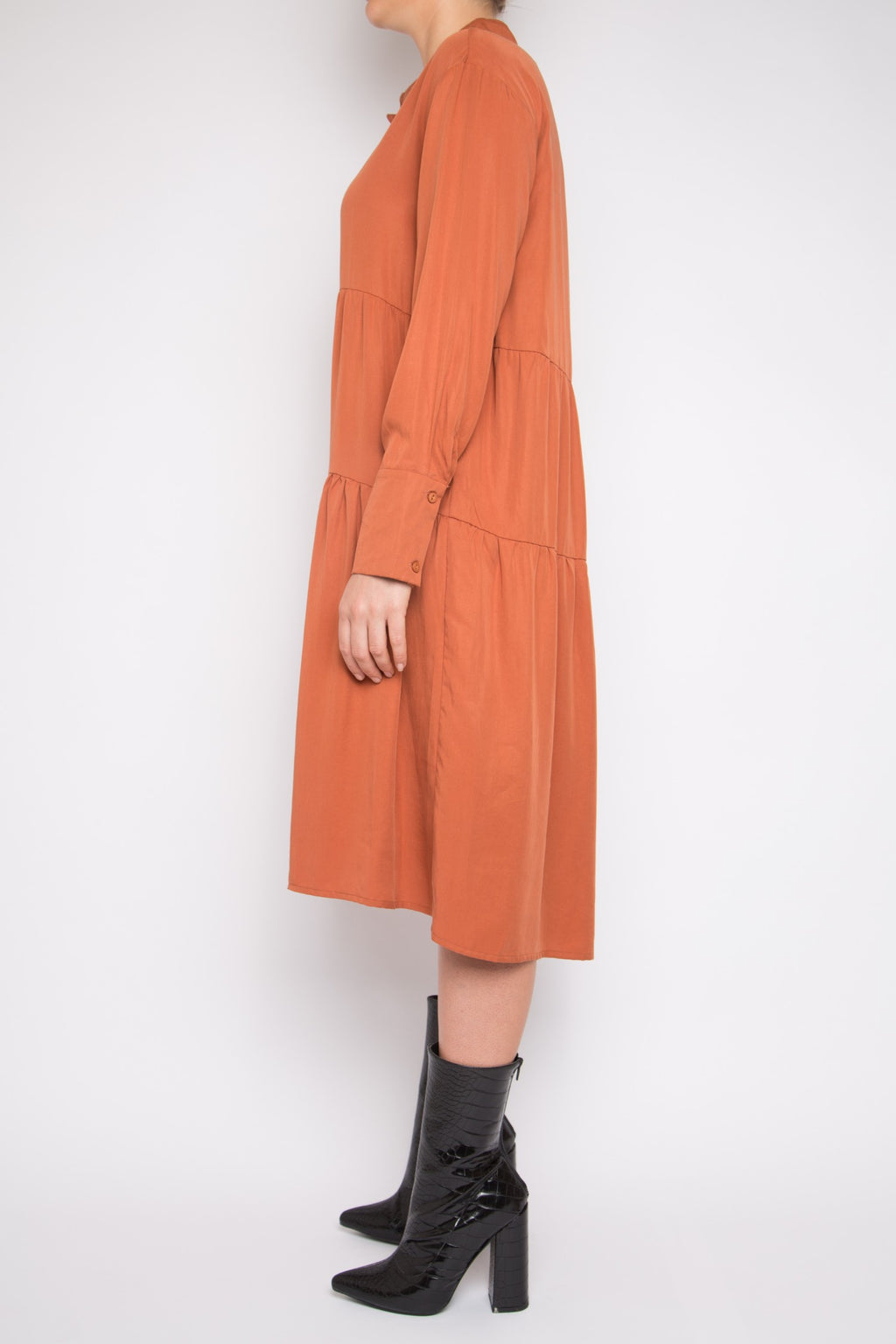 Ruan Dress in Amber