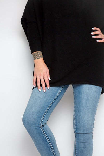 Luxe Layer Knit in Black