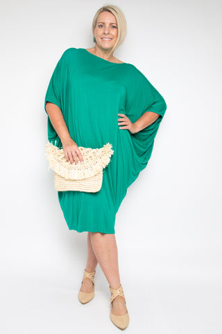Curve Original Miracle Dress in Peacock (bamboo)