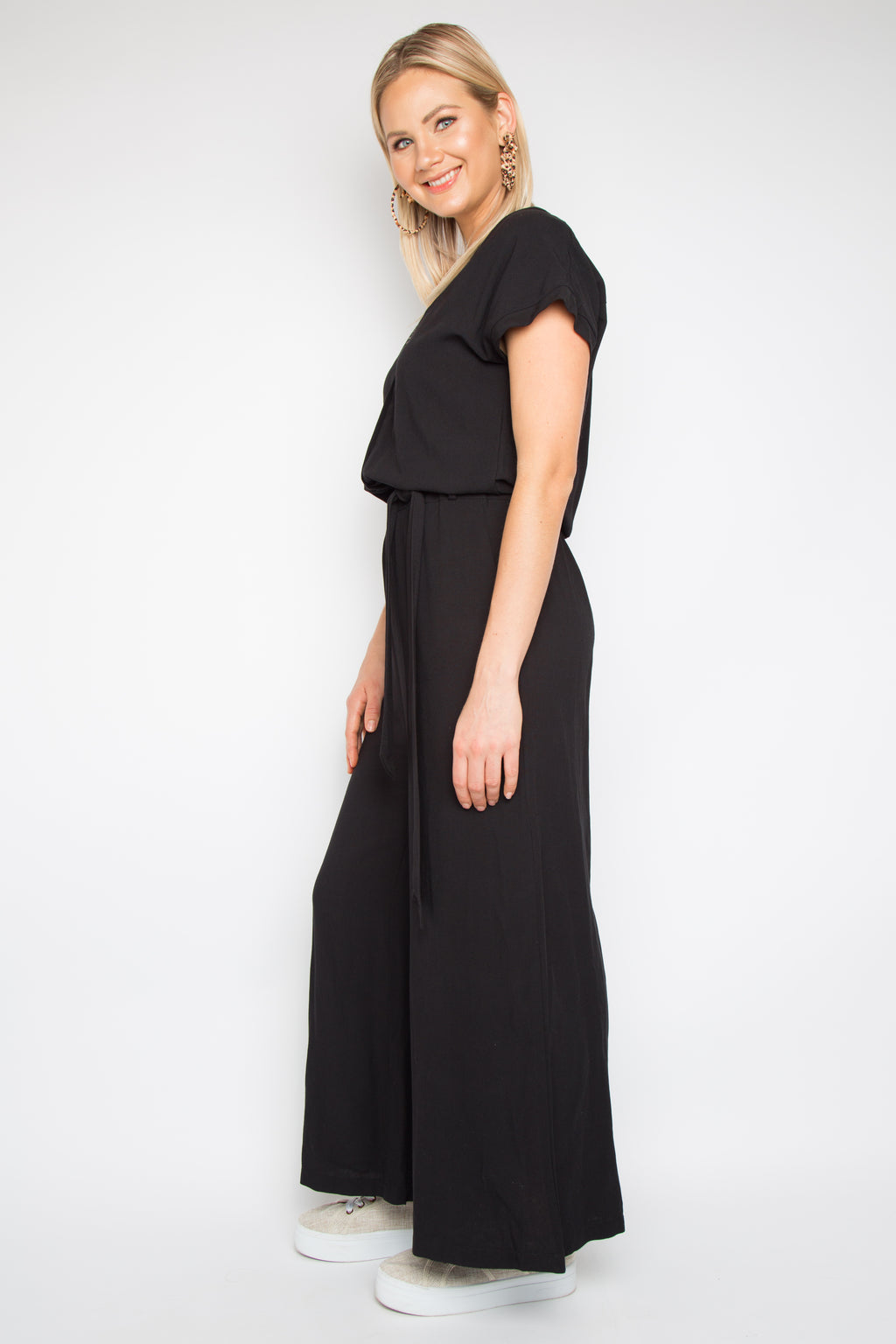 Bounce Jumpsuit in Black