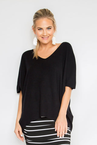 The Best Knit Top in Black