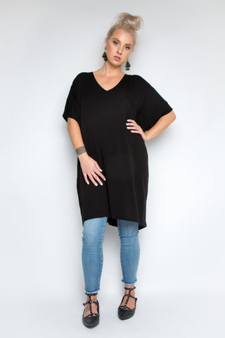 Wonder Dress in Black