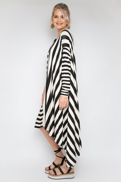 The Ultimate Dress in Gradient Stripe