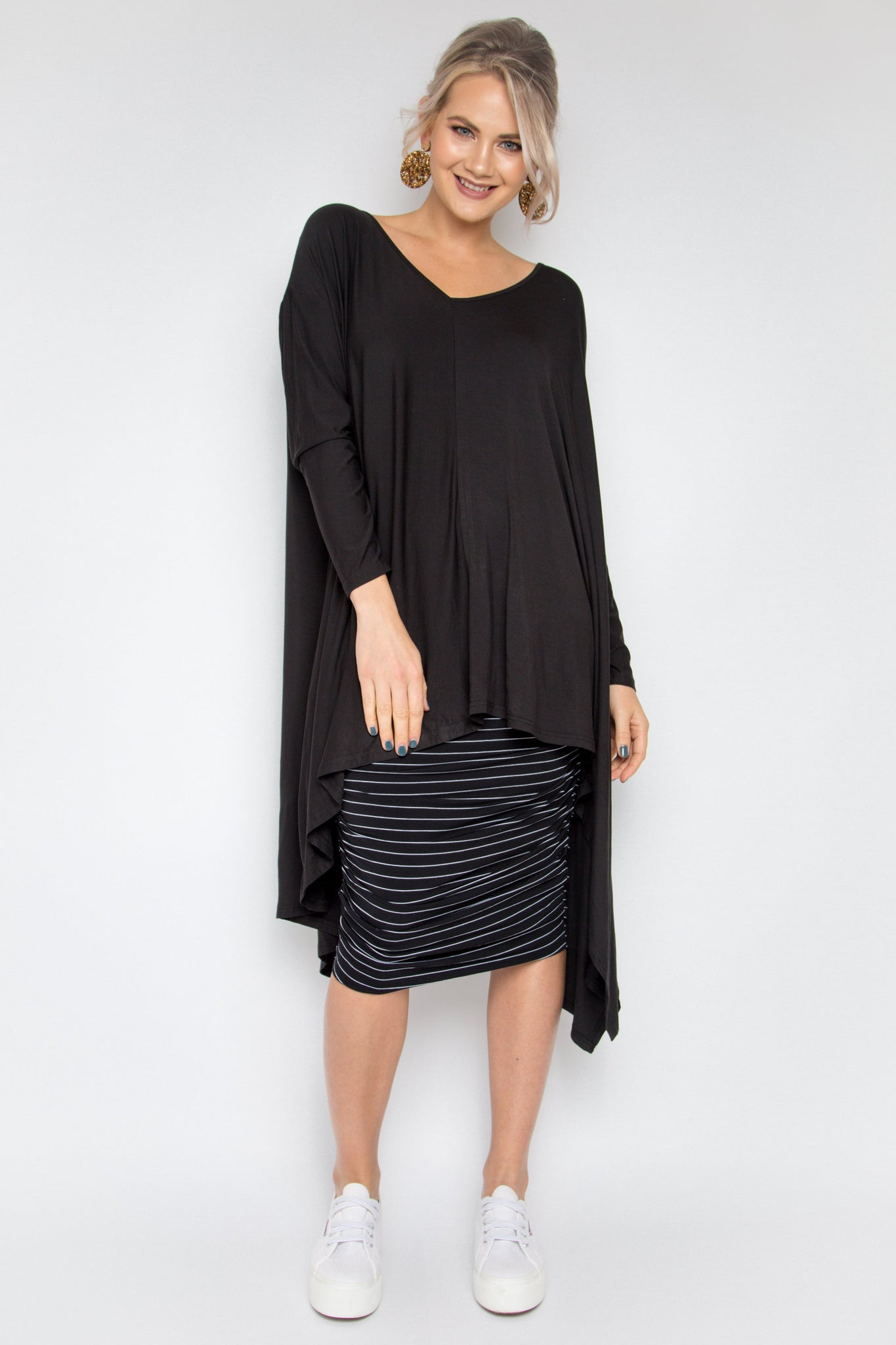 The Ultimate Bamboo Top in Black