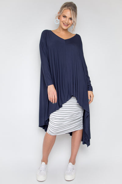 The Ultimate Bamboo Top in Navy