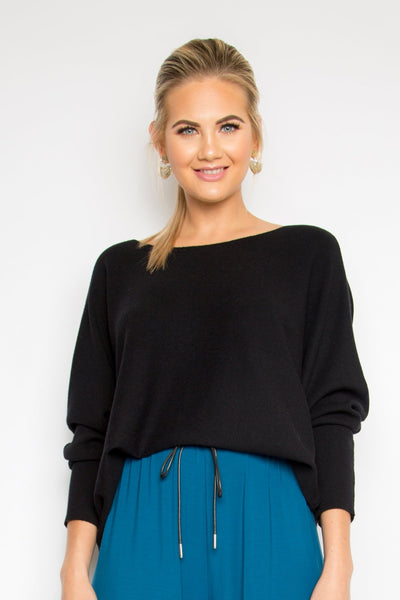 Your Favourite Knit Top in Black