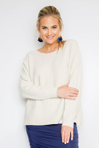 Your Favourite Knit Top in Oyster