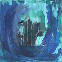 Ocean Series:: Playa Azul::  21x21