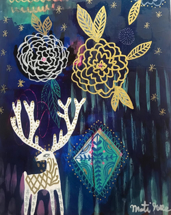 Starshine, Camellia & Deer Magic