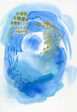 Nosara Surf No.1— Original Watercolor 9x6