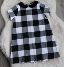 The Annalise Dress in Buffalo Plaid