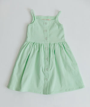 The Heather Dress in Sweet Mint
