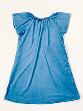 Flutter Sleeve Nightgown in Brilliant Blue