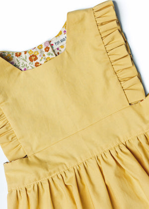 The Harper Pinafore in Mustard