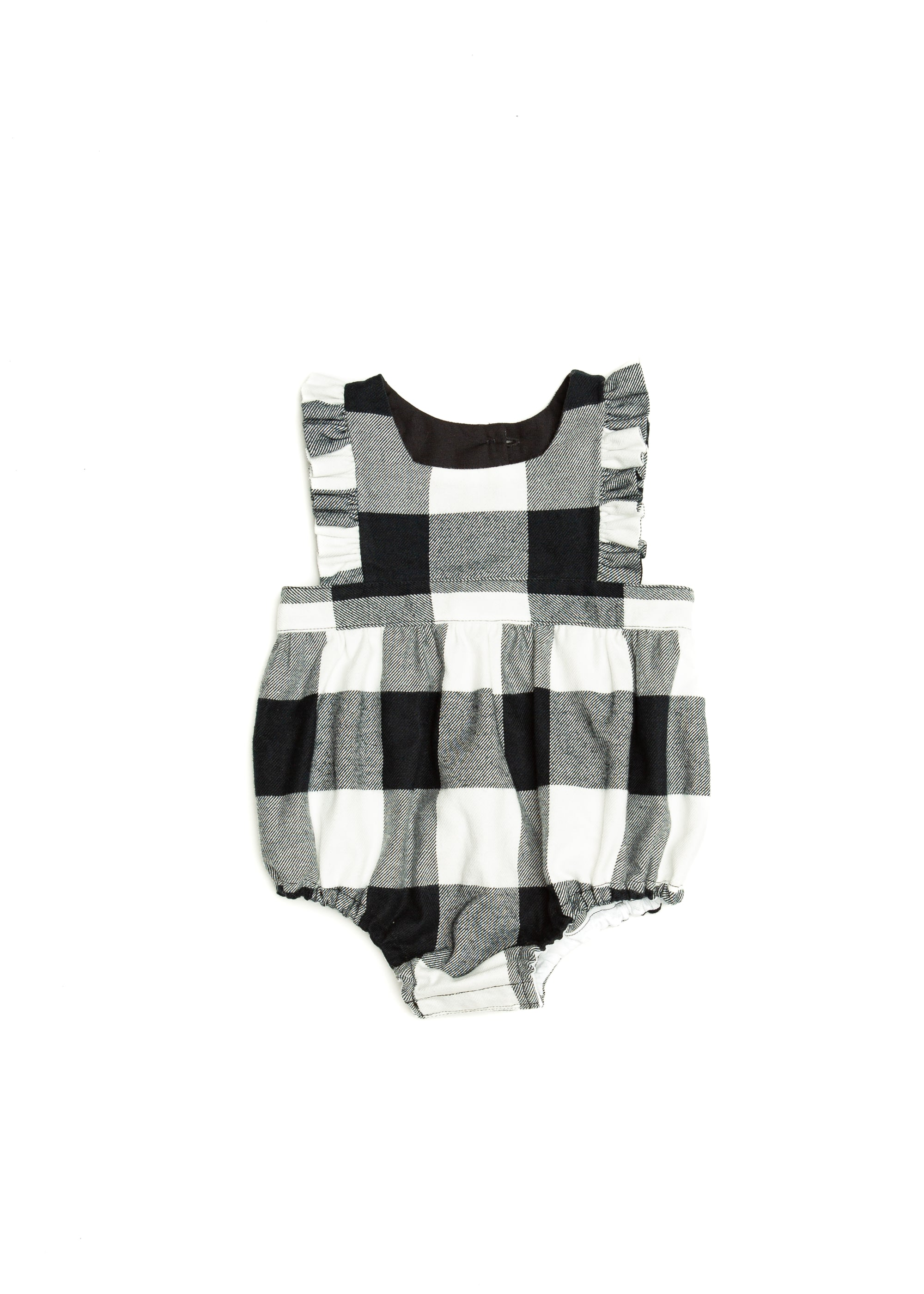 Harper Romper in Buffalo Plaid