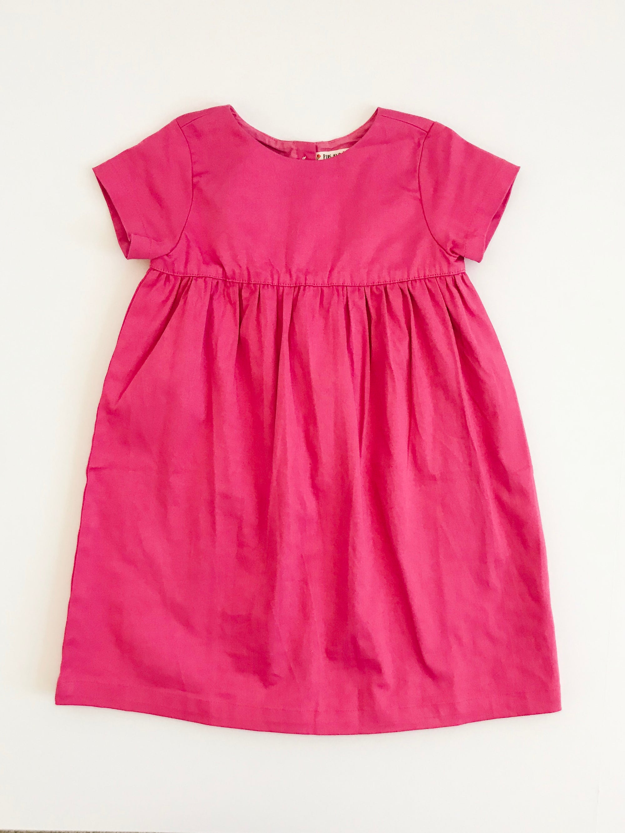The Dolly Dress in Berry