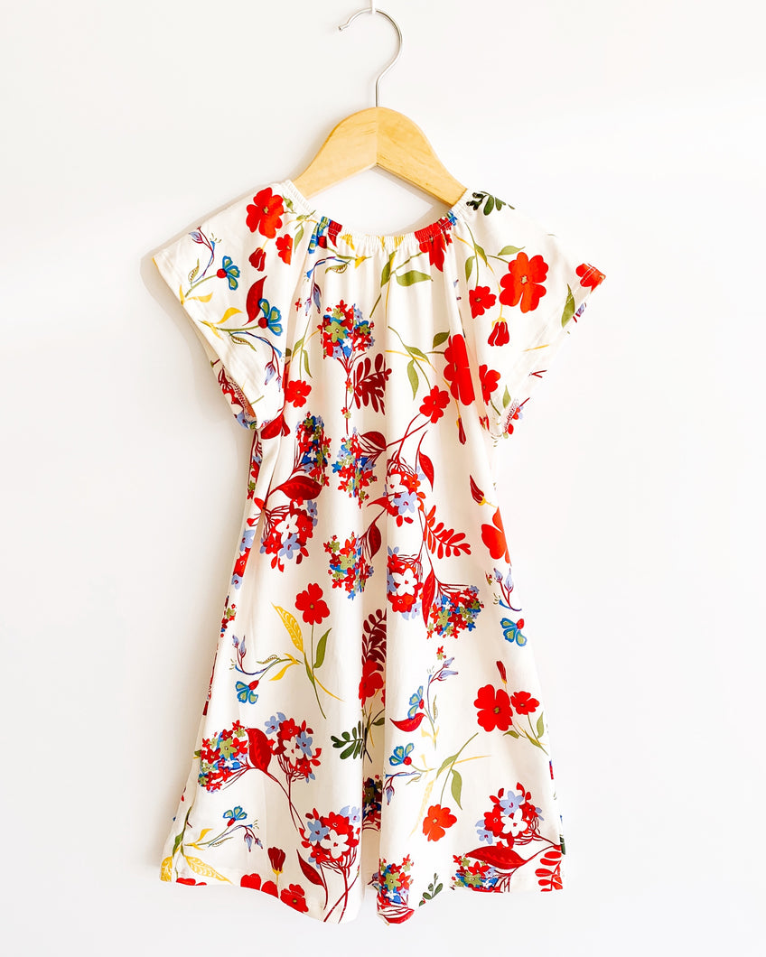 Flutter Sleeve Nightgown in Joyful Floral